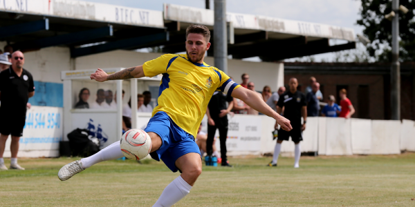 Lee Chappell in action against Billericay Town