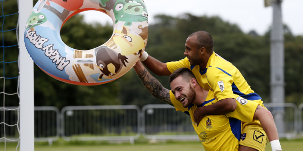 Celebrations by the seaside as the Saints record their first win of the season