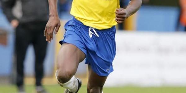 Eddie Oshodi in action against Chelmsford City
