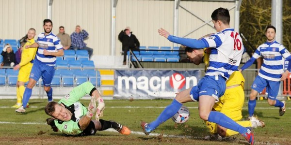 Charlie MacDonald opens the scoring on his debut for the Saints