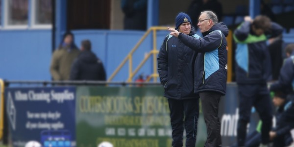 Ian Allinson takes charge of the Saints