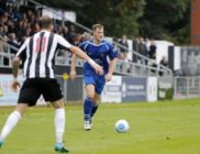 Josh Hill in action for the Saints against Maidenhead