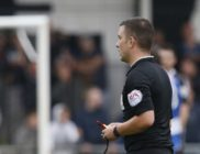 Referee Savvas Yianni was extremely busy