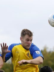 Josh Hill in action against Bishops Stortford