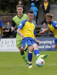 Matt Ball guides the Saints forward