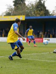 Rhys Hoenes sets up Junior Morias to complete the Saints scoring