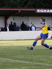 Sam Merson slots home to secure the Saints entry into the next round of the cup