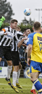Ben MArtin heads towards the Maidenhead goal