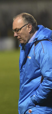 Ian Allinson City manager knows his team should have won, but glad to stop to the rot