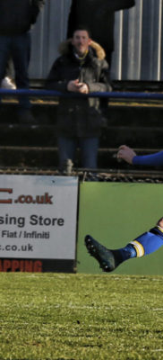 Jamie Cureton scores his second goal of the game