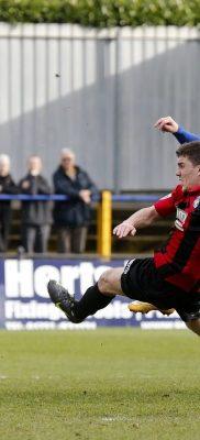 Jamie Cureton blasts the ball towards goal