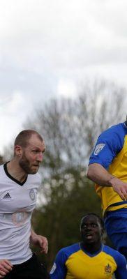 Charlie Walker heads towards goal