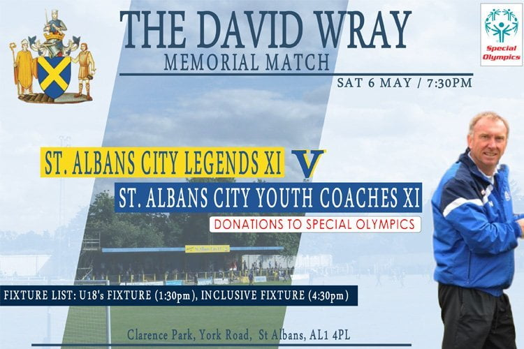 The David Wray memorial match