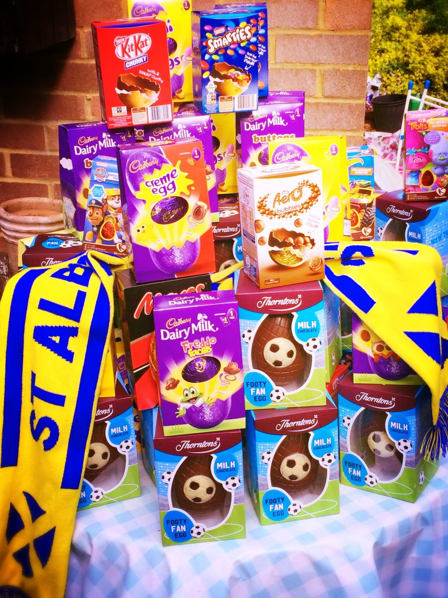 Supporters' Easter eggs-cellence