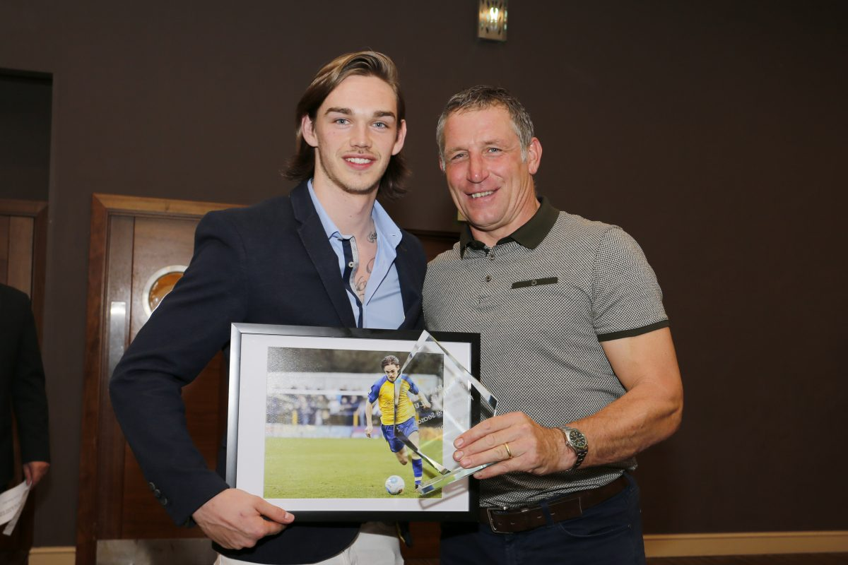 Supporters' Player of the Season - Tom Bender