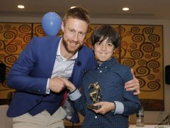 The David Wray Memorial award for the Junior Saints' Player of the Season – David Noble