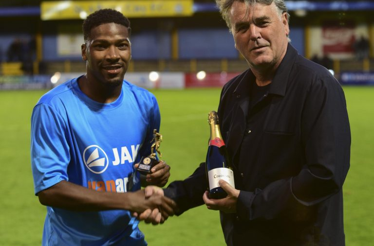 Player of the Month – Shaun Lucien