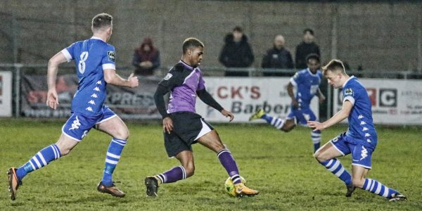 Kieran Monlouis driving the Saints forward