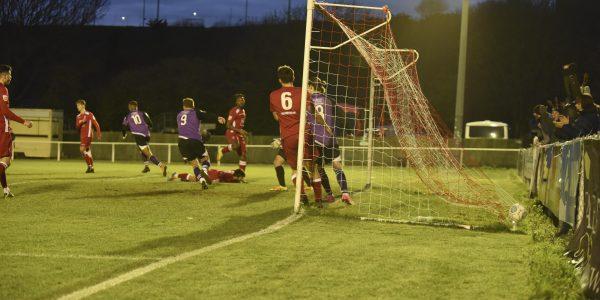 Monlouis celebrates his winning goal