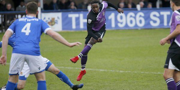 Rhys Murrell-Williamson fires the Saints into an early lead