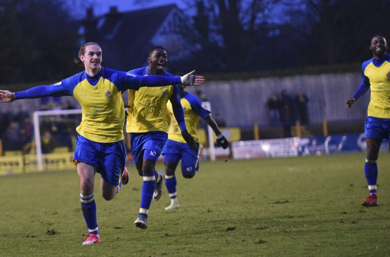 Saints 1 Harrogate Town 1