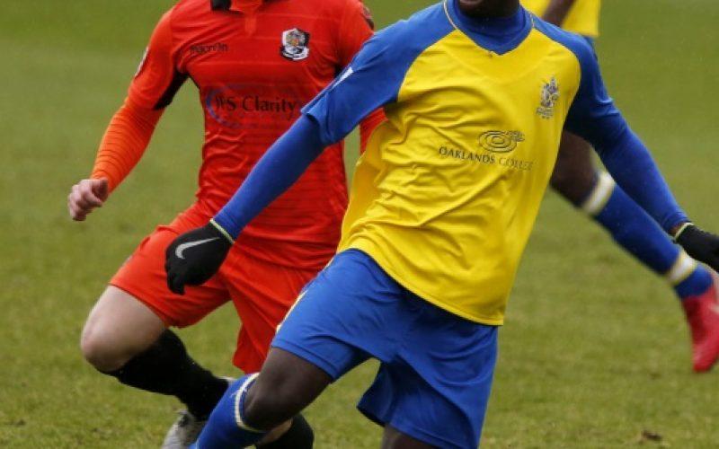 Percy Kiangebeni scored for the second week running