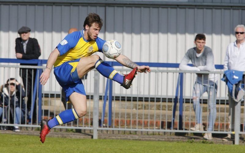 Charles Walker in action against Havant & Waterloovilee