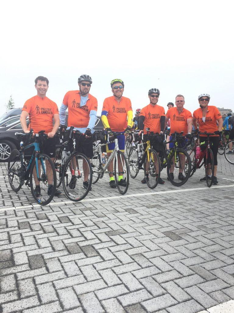 Orange jersey riders