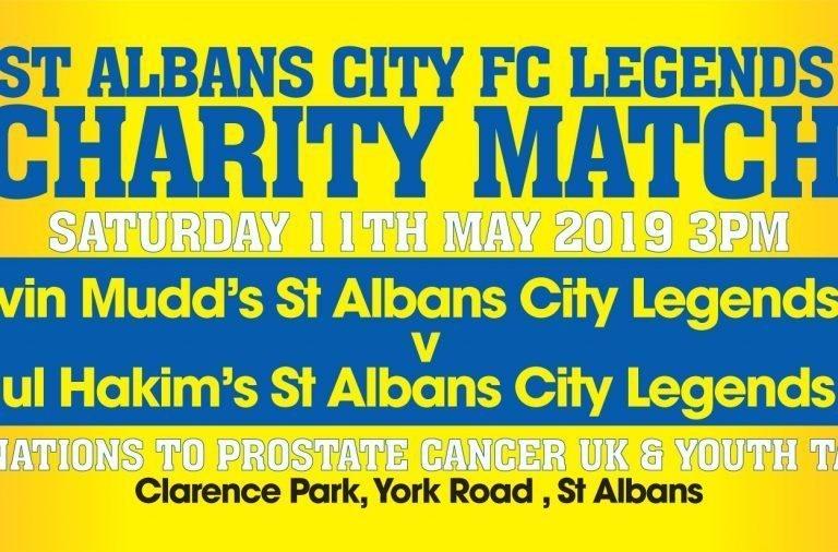 Saints legends charity match at Clarence Park