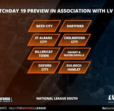 National League South Matchday 19