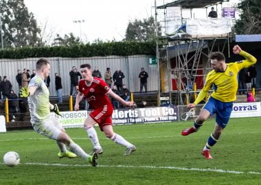 St Albans City v Welling United