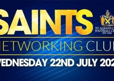 Saints Networking Club - 22nd July 2020