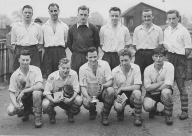 1956-57 Herts Senior Cup winners