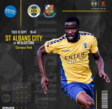 St Albans City vs Wealdstone
